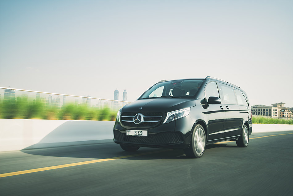 Mercedes V-Class:Exclusive – 7 guests